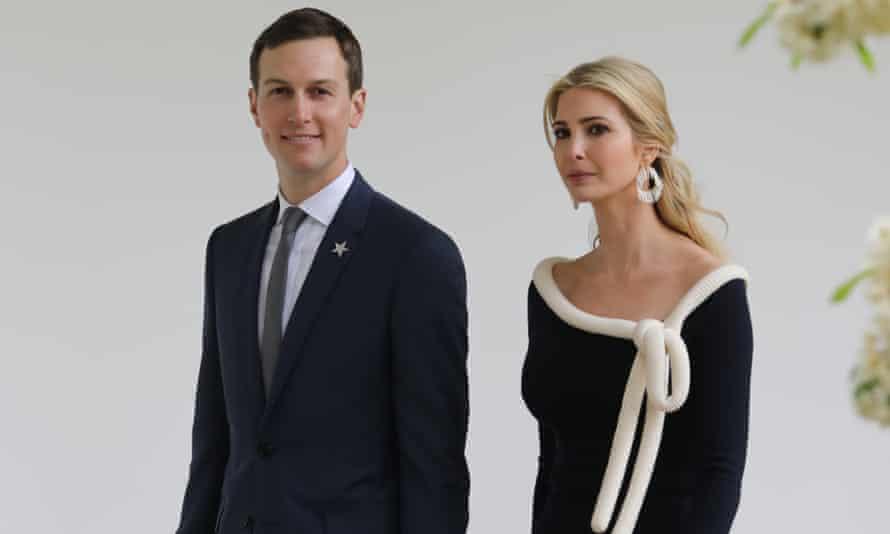 Jared Kushner and his wife, Ivanka Trump, have three children together.