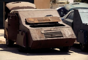 Isis suicide bomb vehicles