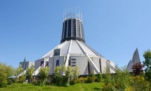 Concrete visions … Liverpool Metropolitan Cathedral. Photograph: Alamy