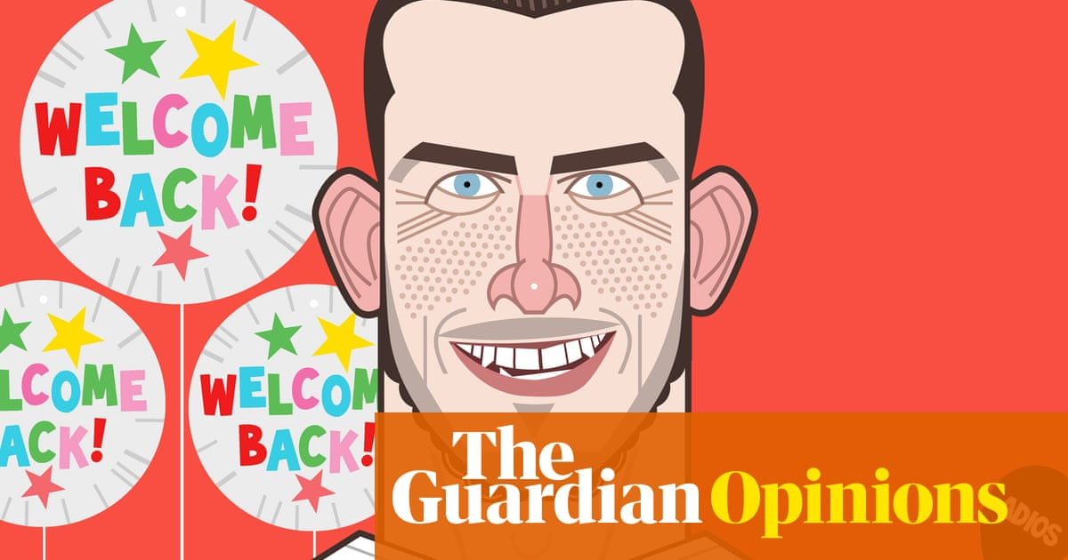 Masterstroke or mistake? Who cares, Bales return to Spurs is intoxicating | Barney Ronay