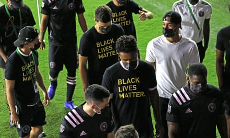 MLS joins wave of protests against racial injustice with five games postponed