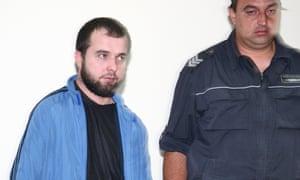 Akhmed Chatayev under arrest in 2011.