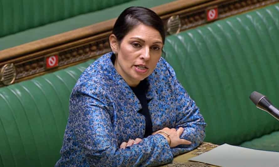 Priti Patel described the bill as 'the biggest overhaul of the UK's asylum system in decades'.
