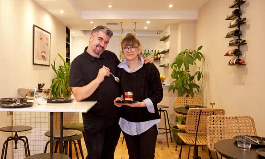 'Deserves all the love': Fadiga's Enrico and Michela.