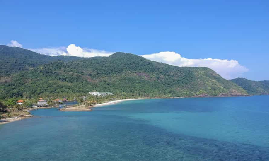 The island of Koh Chang in southern Thailand. The case brought new scrutiny to Thailand's defamation and computer crime laws, which human rights activists say are too harsh and sweeping.