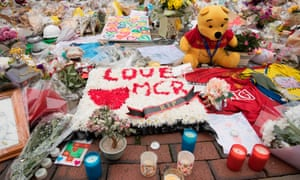 Flowers and tributes at St Ann's Square