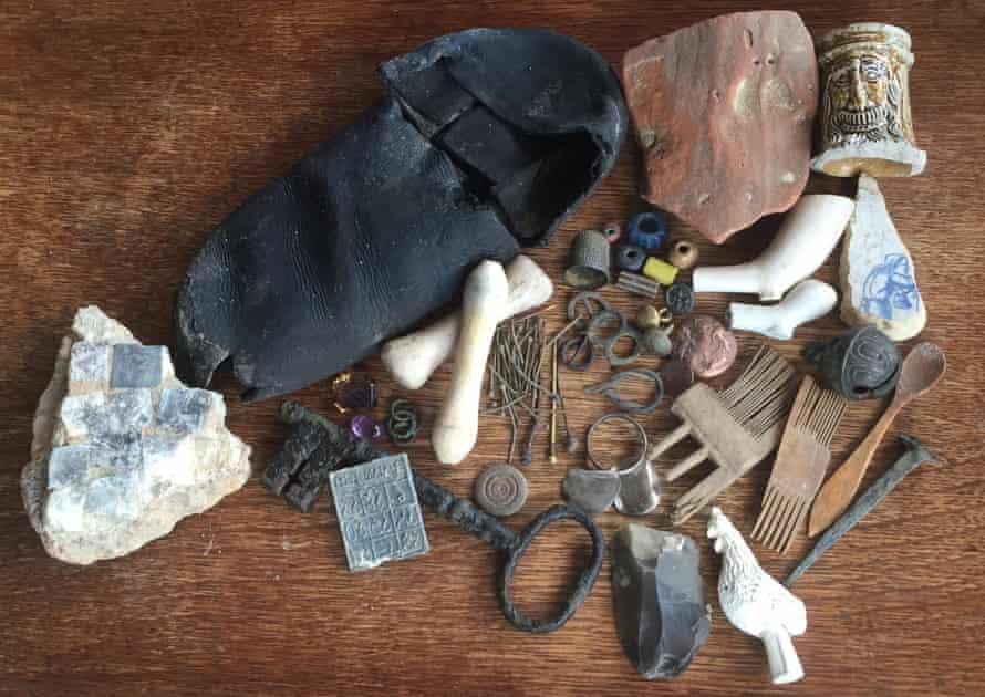 Treasures from the Thames.