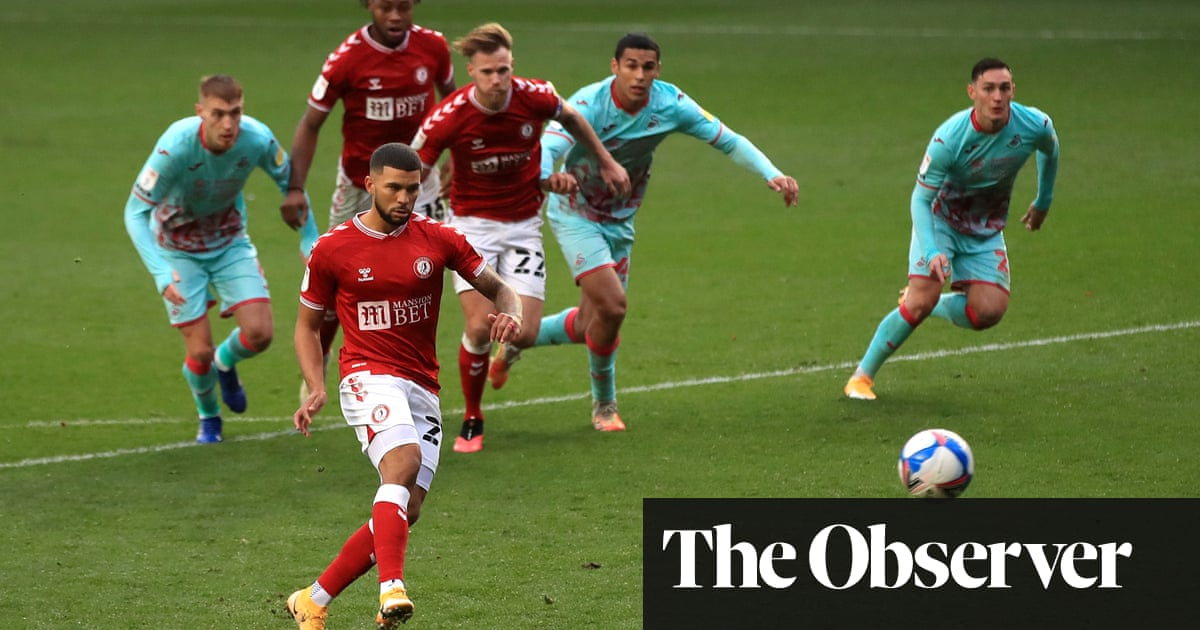 Championship: Bristol City grab point after controversial late penalty