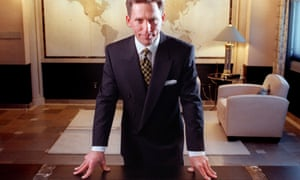David Miscavige, chairman of the Church of Scientology, pictured in 1998.