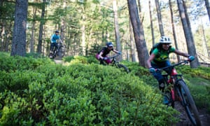 Women-only 'Enduro Raid' trip in the Scottish Borders with Go-Where