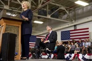 Hillary Clinton, Sherrod Brown