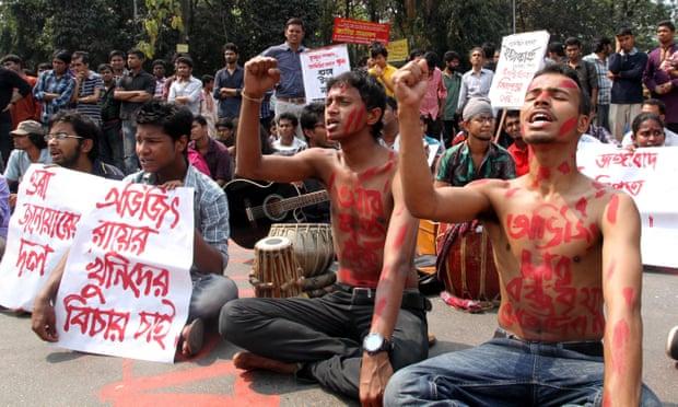 Activists protest at killing of Avijit Roy