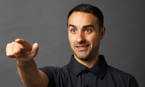 'Estate agents basically just point at stuff and say what it is' … Jamie Demetriou, the star of Stath Lets Flat.