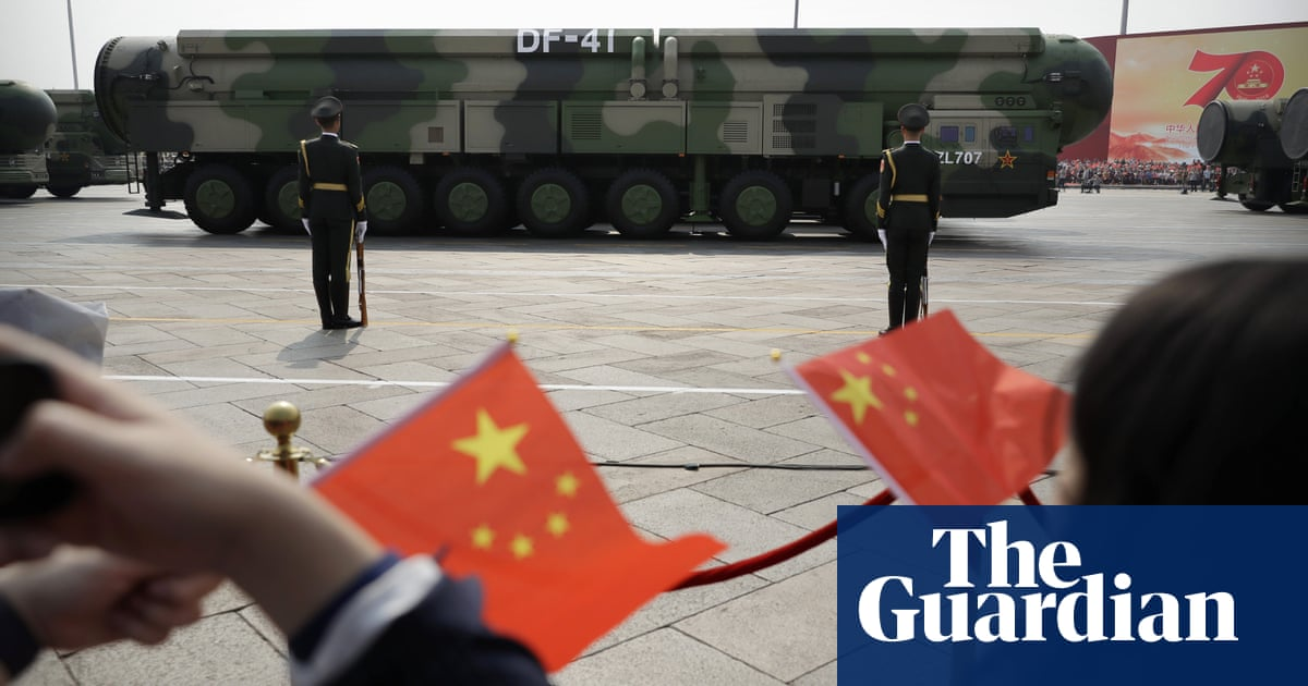 China building more than 100 'nuclear' missile silos in desert