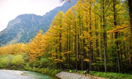 Kamikochi - Japan Alps National Park Resort.