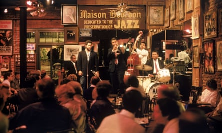 A jazz club in the French Quarter, New Orleans.