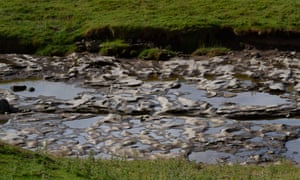 River Skirfare in Yorkshire