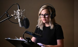 Amy Poehler records the voices of Duncan and Annie for Duncanville.
