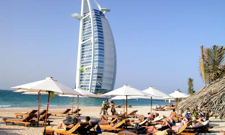 Dubai has become a major tourist destination, but is also being used by criminals, investigators say.