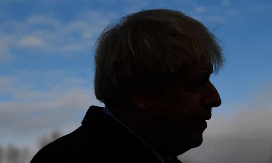 Boris Johnson attends a campaign event in Cheadle Hulme