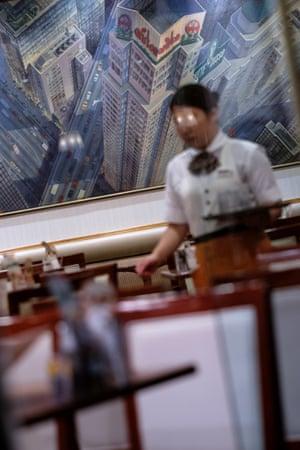 Tokyo – a waitress in Shinjuku area