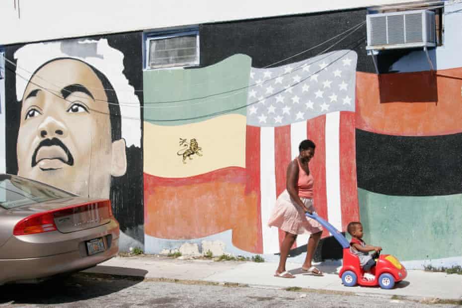 Residents of Little Haiti, Miami.