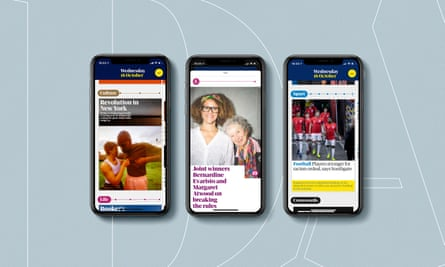 The Guardian releases newly designed Daily app across iOS and Android devices