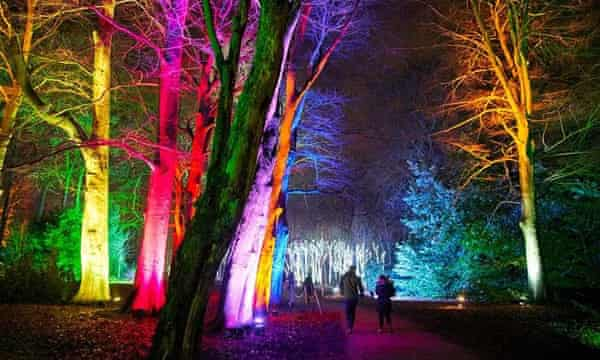 20 Of The Uk S Best Christmas Light Trails Christmas And New Year Holidays The Guardian