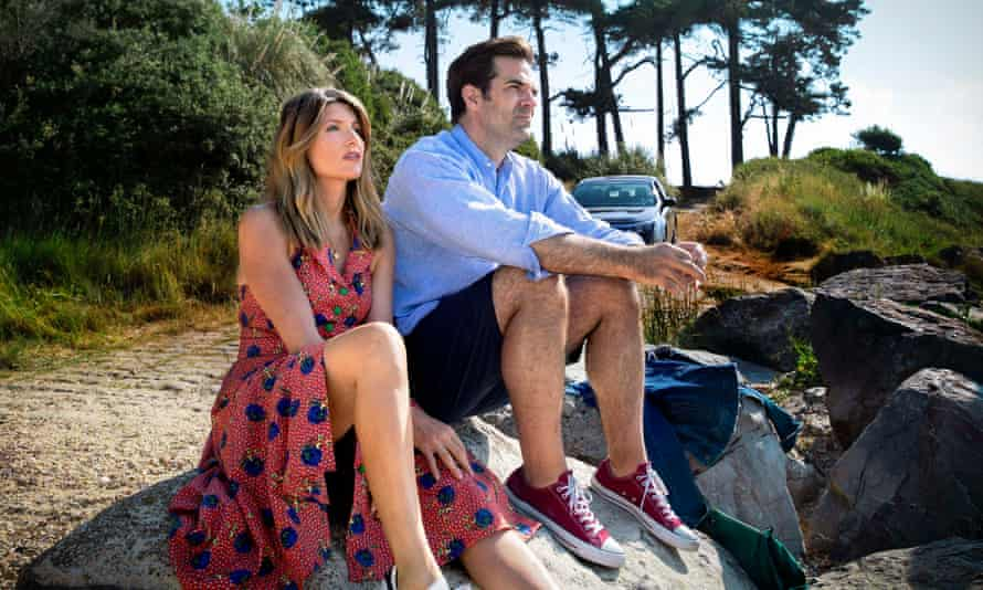 Sharon Horgan and Rob Delaney in the TV show Catastrophe