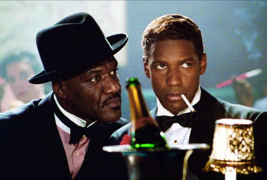 High point …as gangster West Indian Archie in Malcolm X, with Denzel Washington.