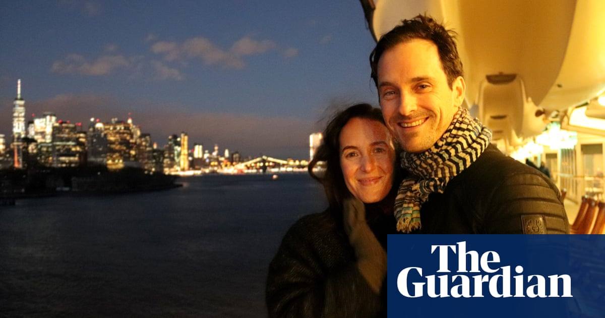 How we met: 'My sister and my dad were freaked out when I said I was getting married'