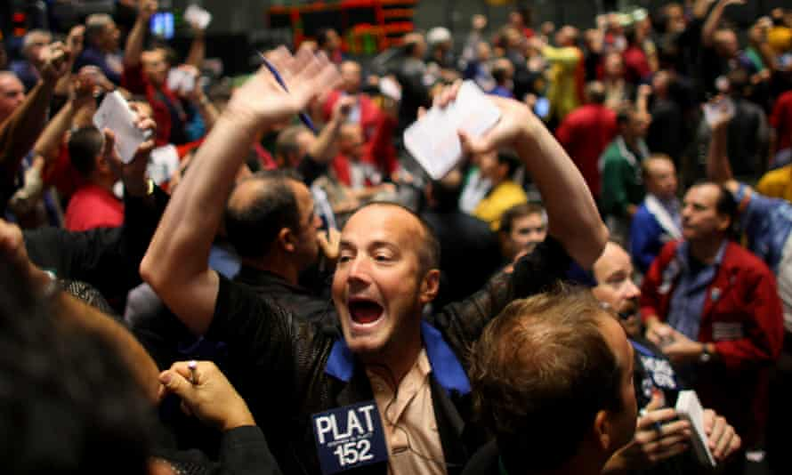 Dealers on the Chicago Mercantile Exchange