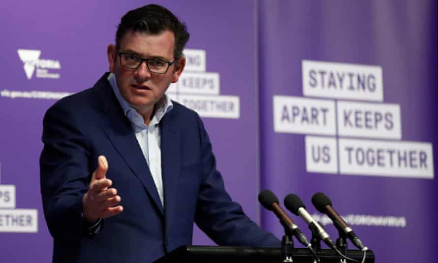 Victorian premier Daniel Andrews outlines plans to ease restrictions.