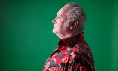 Tony Slattery in profile