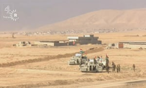 Channel 4 News' Facebook Live stream of Iraqi and Kurdish forces advancing on IS militants in Mosul.