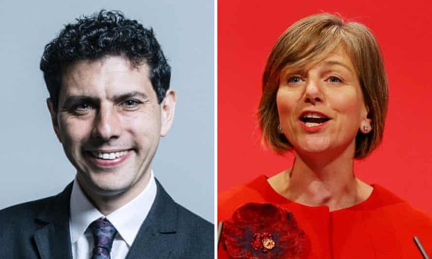 MPs Alex Sobel and Lilian Greenwood