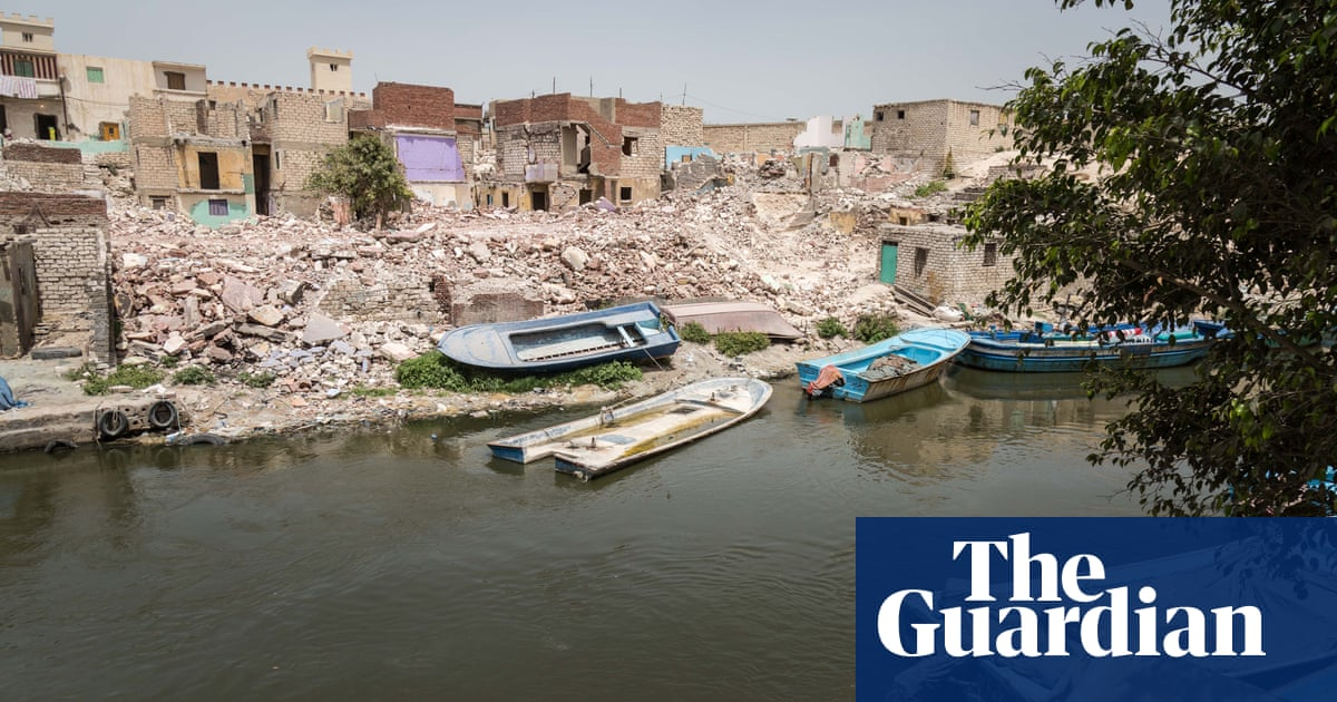 Houses claimed by the canal: life on Egypt's climate change frontline | Ruth Michaelson