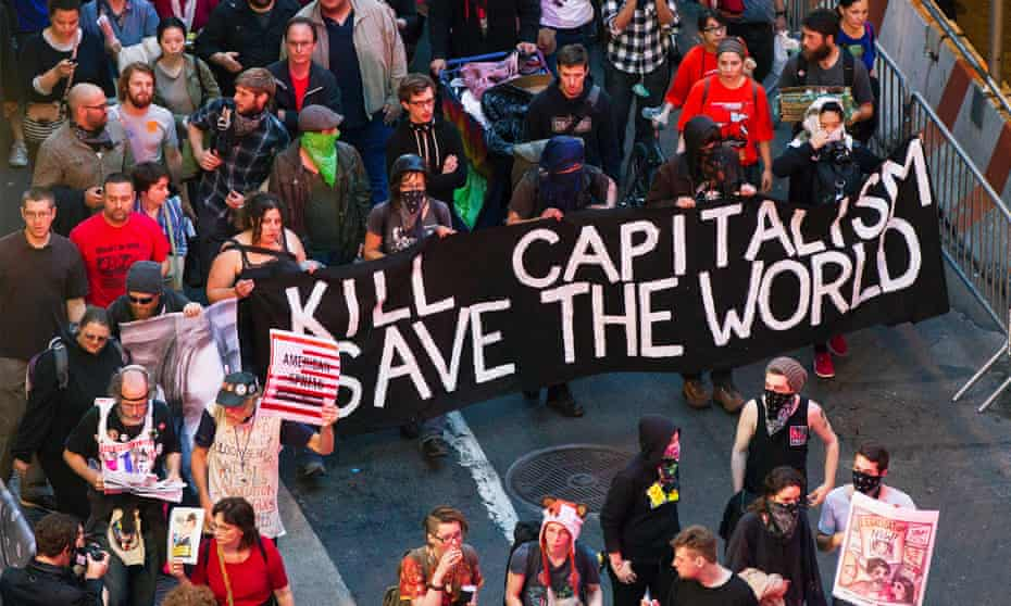 The Occupy Wall Street movement in 2012.