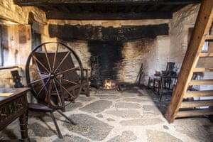 Inside Tŷ Mawr Wybrnant.