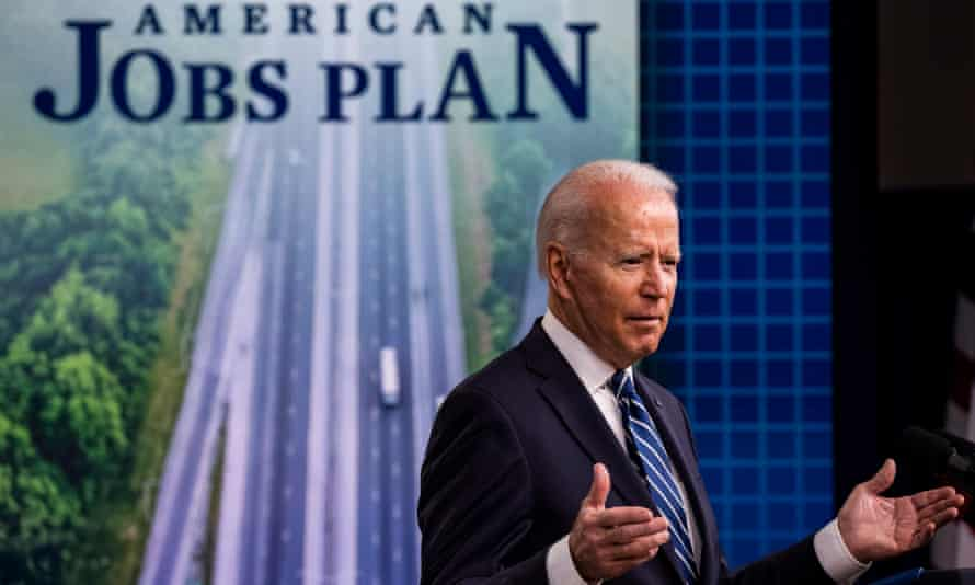 Joe Biden: 'This is historic progress, pulling our economy out of the worst crisis in a hundred years.'