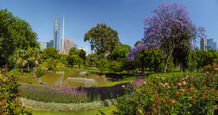 Melbourne's Royal Botanical Gardens, where you can go on a guided walk learning about native plants and their uses