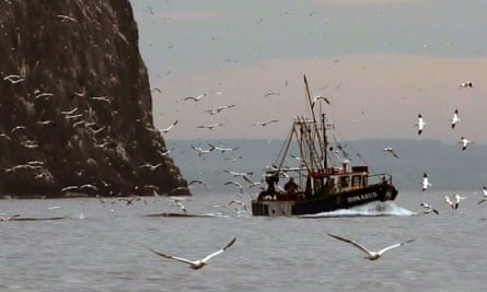A Scottish fishing vessel