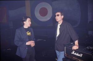 Jools Holland and Scott Walker on the TV show Later with Jools Holland, 1995