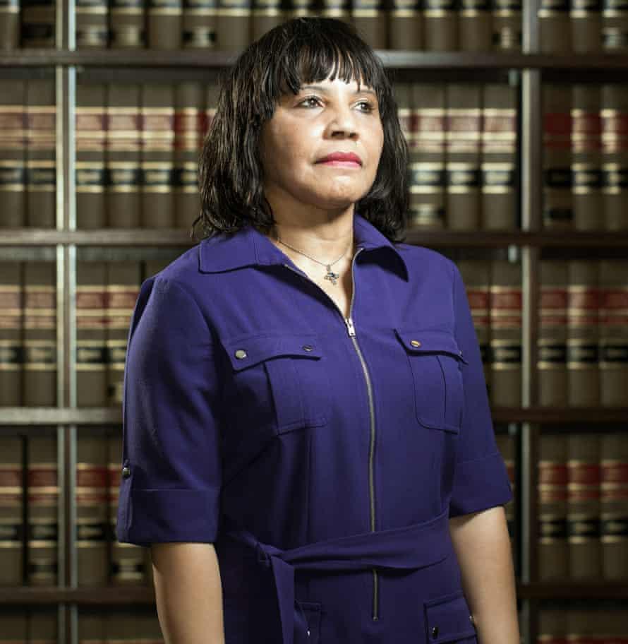 Sharon Lenzy-Scott, secretary of the Creek Freedmen Band in Oklahoma City.