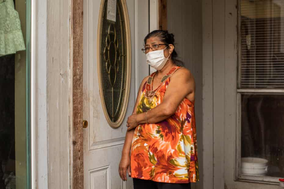 """""""I don't sleep much worrying what will happen if we can't pay the medical insurance,"""" said Gloria Gomez."""