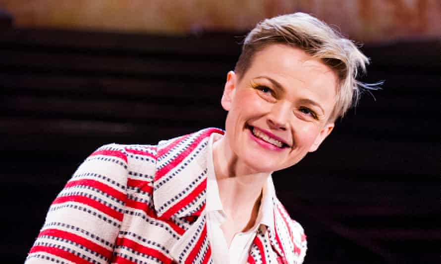 Maxine Peake in How To Hold Your Breath at the Royal Court