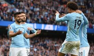 Resultado de imagen de Manchester City  5-0   Crystal Palace