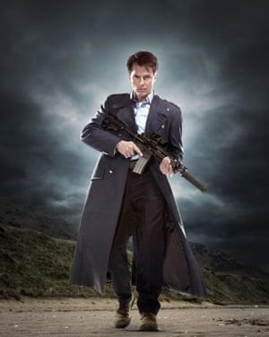 John Barrowman as Captain Jack Harkness