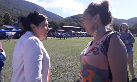 Leeanne Enoch 'devastated' at Adani mine impact on Indigenous people – video