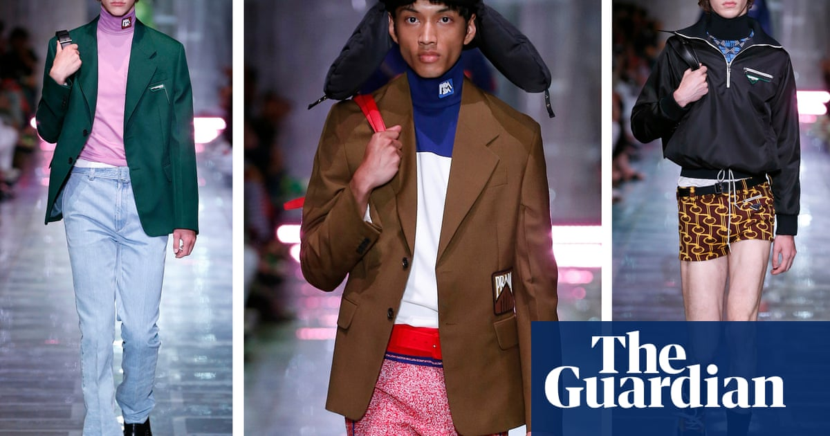 8597a39c7 Milan menswear: 10 key collections from the spring/summer 2019 shows |  Fashion | The Guardian